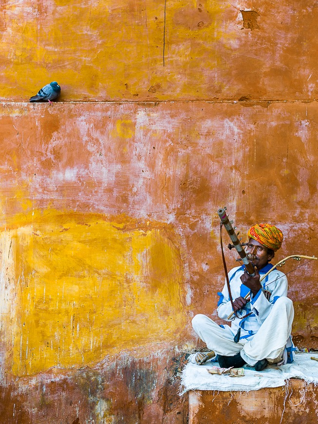 Musicians of Amber Fort, Jaipur