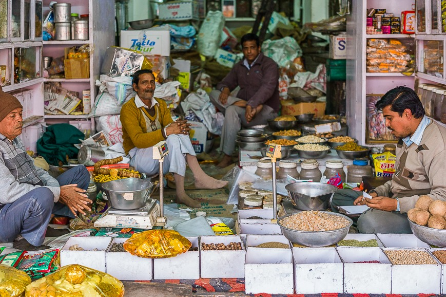 Shopkeepers of Jaipur
