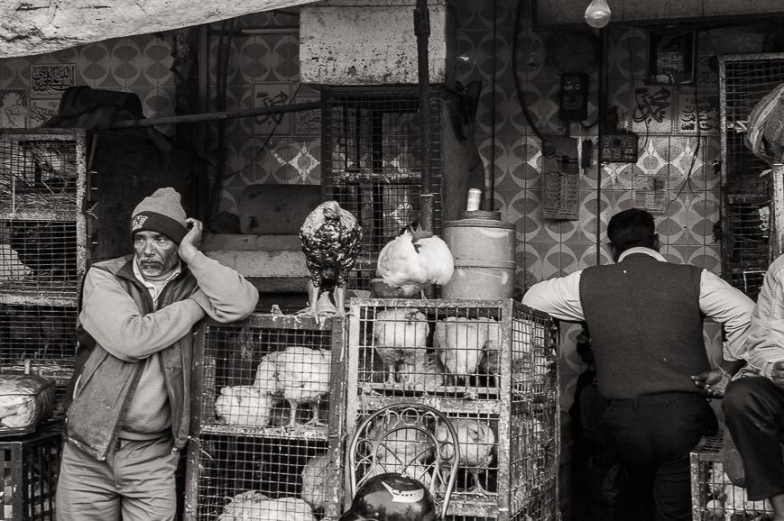 Market near Jama Masjid, Delhi